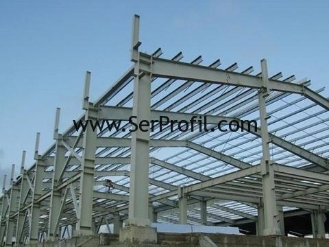 Ağır Çelik Konstrüksiyon Hadde Çelik İmalat Montaj Fiyatları