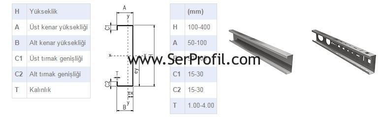 serprofil-C-Profil-cizimi