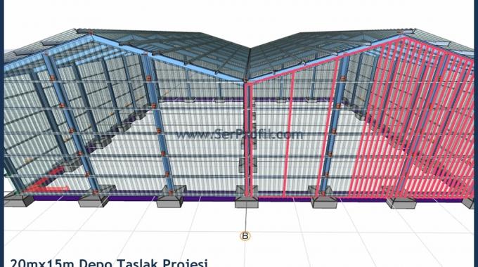 Çelik Depo Fiyatları, Çelik Hangar Yapımı, Çelik Depo Projeleri