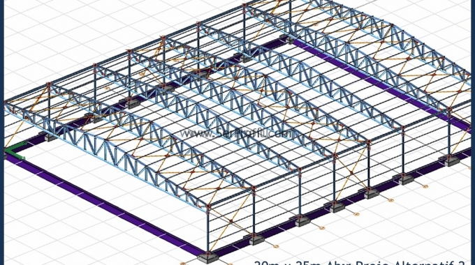Çelik Konstrüksiyon Ahır Proje ve İnşaat Maliyeti