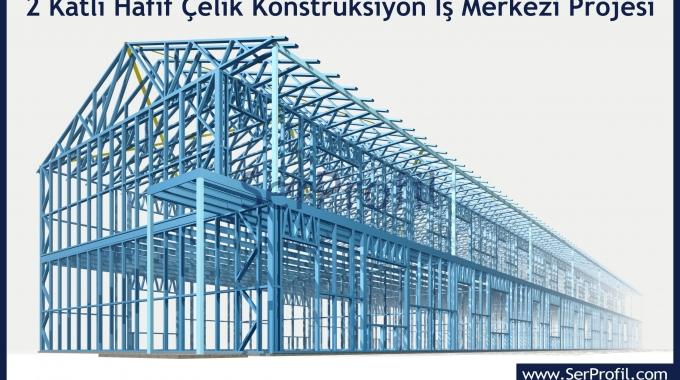 Hafif Çelik Konstrüksiyon Yapı Ev Villa Depo Metrekare Fiyatları 2017