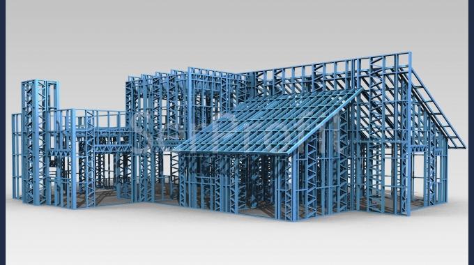 Çelik Konstrüksiyon Ev Villa Galvaniz Profil ve Panel Fiyatları