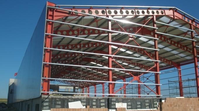 2. El Çelik Konstrüksiyon Depo Fabrika Hangar Malzeme Fiyatı