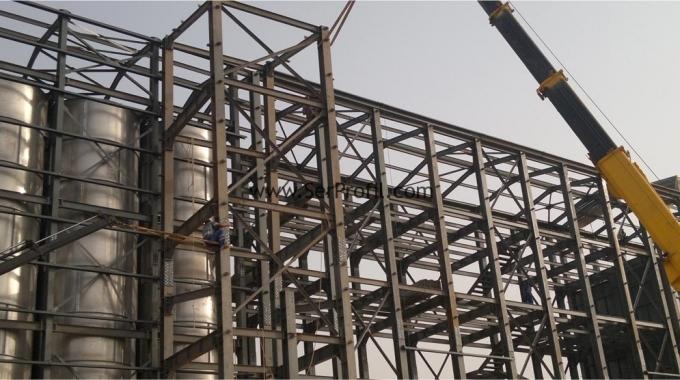 2016 Fabrika Depo Hangar Çelik Yapı, Çelik Çatı Montaj Fiyatları