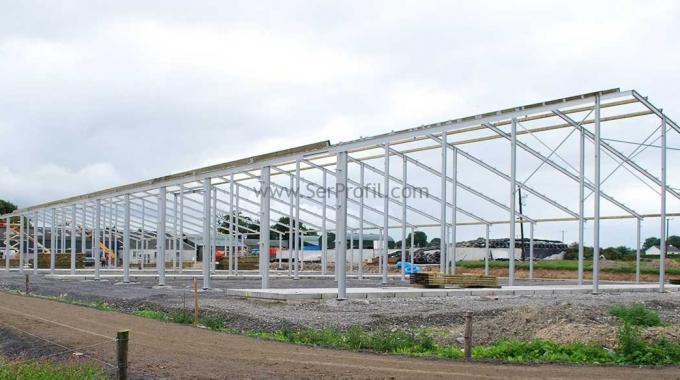 1.500 m2 Çelik Konstrüksiyon Depo Fabrika Hangar Maliyeti