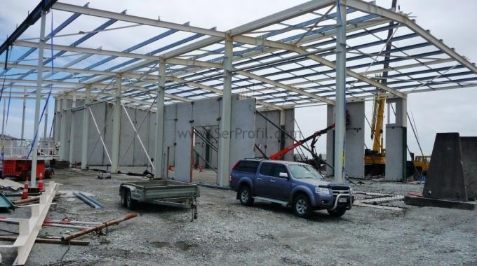 HAFİF ÇELİK Çatı Makası Proje ve İmalat Fiyatları