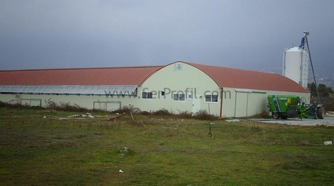 50-100 Büyükbaş Kapasiteli Süt ve BESİ Sığırcılığı Ahır Projesi Maliyeti Fiyatları