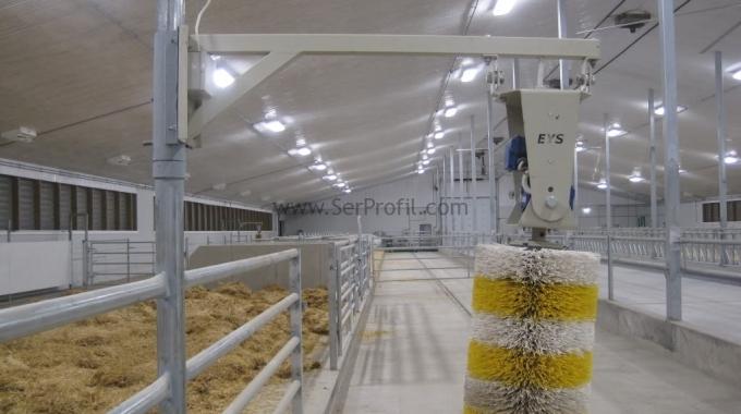 1000 Baş Kapasiteli Yüksek Teknolojili Tam Donanımlı Ahır Çiftlik Projeleri Fiyatları