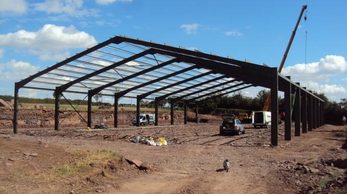 180 M2'den 18.000 M2'ye Çelik Depo İnşaatı Maliyeti, Çelik Fabrika Fiyatları