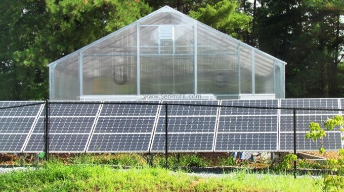 1 Dönüm Güneş Enerjili Elektrik Üreten Hazır Sera Proje Kurulum Maliyeti Fiyatı