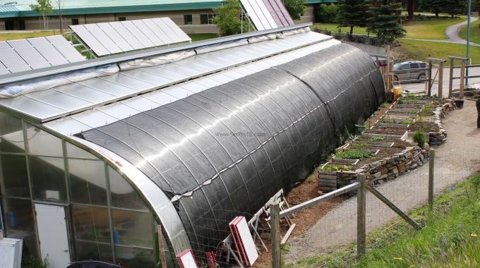1 Dönüm Güneş Enerjili Polikarbon Cam Sera Anahtar Teslim Proje ve Kurulum Maliyeti Fiyatı