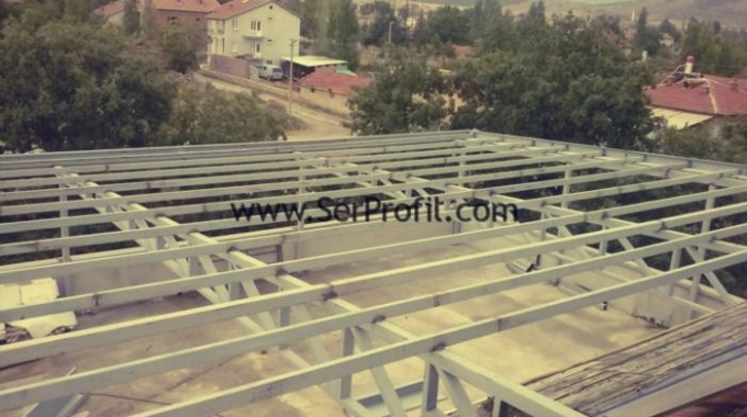 Çelik Çatı Hesabı, Çelik Çatı M2 Maliyeti, Çelik Çatı Projeleri