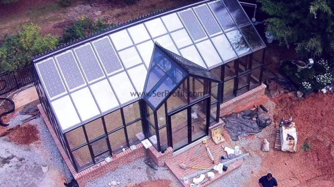 1 Dönüm (1000 m2) Cam Sera Projeleri ve Otomasyonlu Kurulum Maliyeti