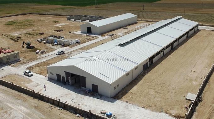Çelik Konstrüksiyon Depo Hangar M2 Fiyatları 2017