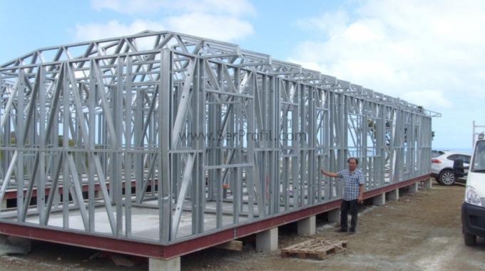 Hafif Çelik Yapı Sistemleri Ev Villa Depo Fabrika Hangar Fiyatları 2017