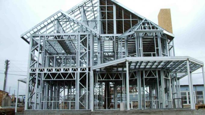Hafif Çelik Ev Villa Depo Fabrika Hangar Yapımı Hazır Profiller Malzeme İşçilik Montaj Fiyatı
