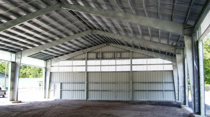 Çift Duraklı Kapalı Ahırların Planlanması Projeleri Maliyetleri Fiyatları