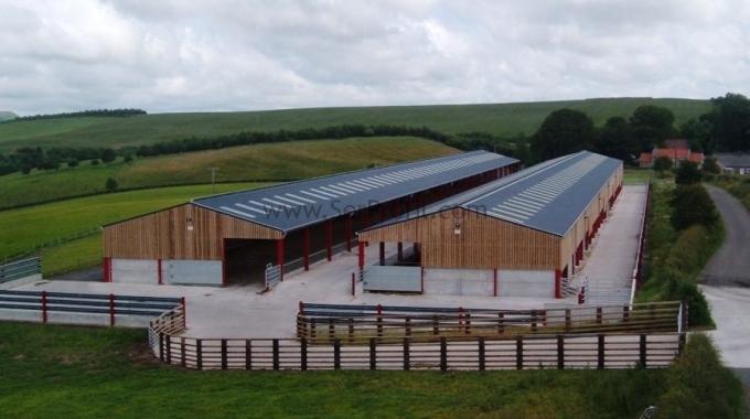 200 Büyükbaş Besi Süt Hayvan Ahır Çiftlik Projeleri Örnekleri Maliyeti