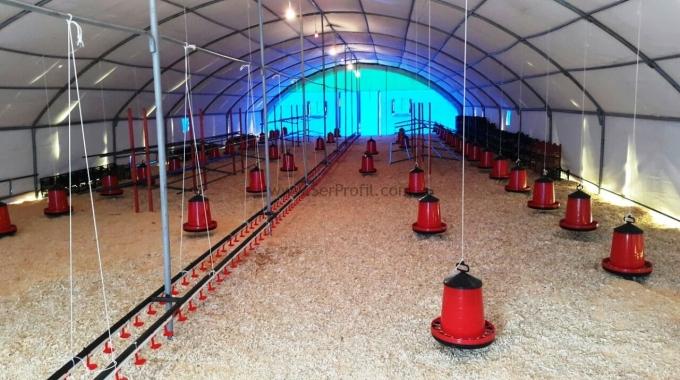 Tavuk Çiftliği Kümes Projeleri Ekipmanları Malzemeleri Fiyatları Listesi