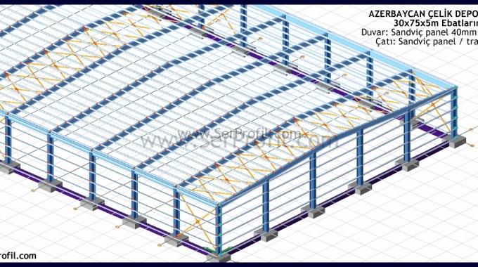 Prefabrik Hangar Çelik Depo M2 Fiyatları 2017