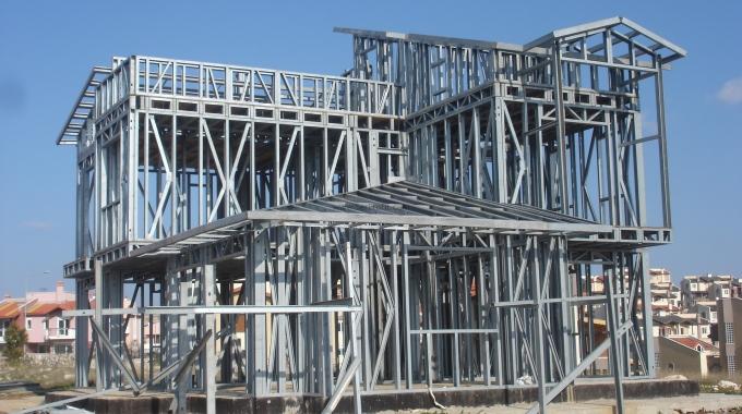 Galvanizli Hafif Çelik Yapı Profil Panel Fiyatları Üretim Toptan Satış