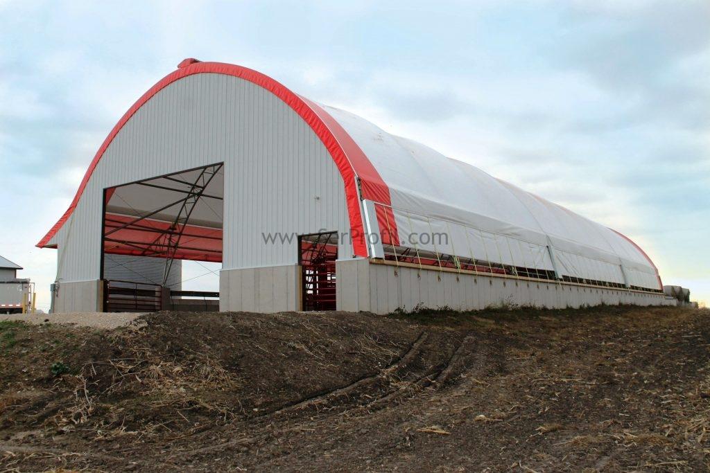 Prefabrik Ahır Yapım Fiyatı çelik Iskeletli çiftlik Projeleri Yapım
