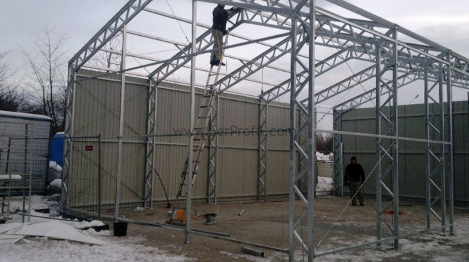 Prefabrik ÇELİK Düğün Salonu Projesi İnşaat Yapım Fiyatları