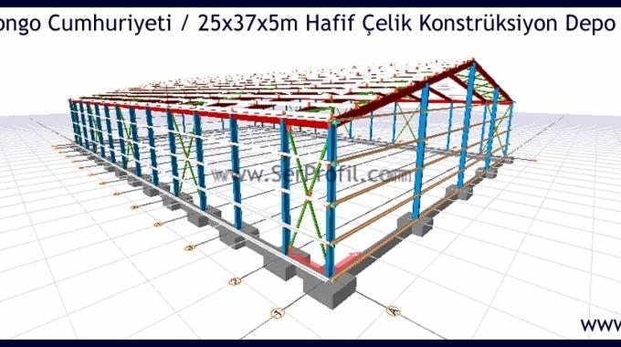 Çelik Konstrüksiyon Yapı Fabrika Depo Hangar Maliyetleri