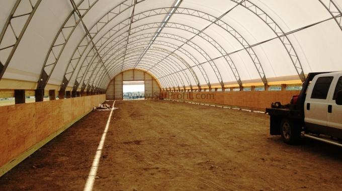 100 Baş Sağmal Yarı Açık Kapalı Ahır Çiftlik Projeleri İnşaat Ekipman Maliyeti