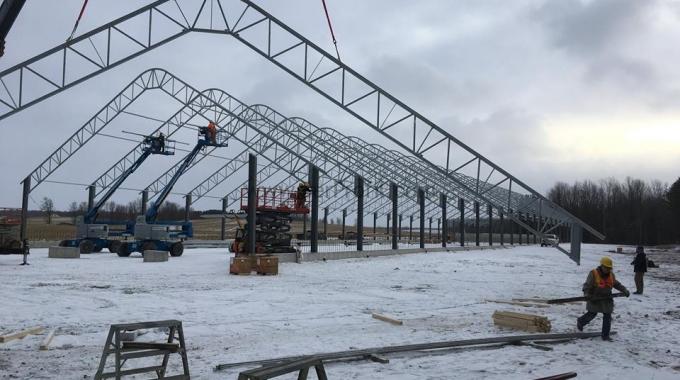 Çelik Konstrüksiyon Ahır Maliyeti Projeleri Fiyatları
