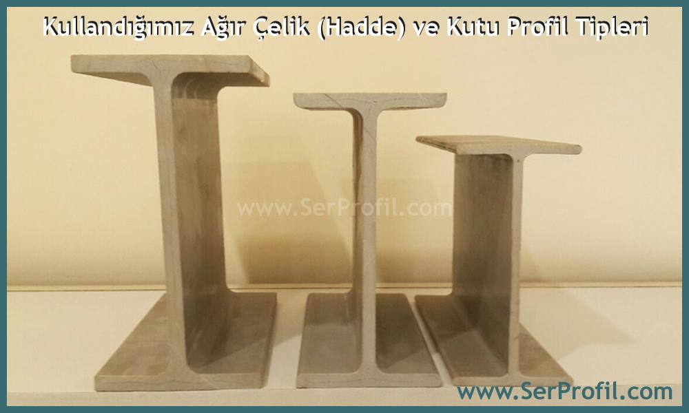 Serprofil Ağır Çelik Hadde Çelik Kutu Profil Tipleri Anahtar Teslim Çelik Yapı Sistemleri - SerProfil.com)
